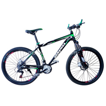 Aluminium Alloy 26 '' 21 Speed ​​Mountain Mountain Bike Colorful